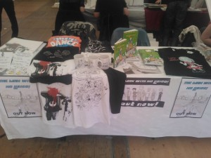 Our table at D.I.C.E!